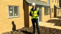 Ben Thompson on building site