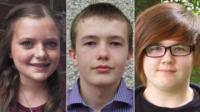 Ellie Kean, Gregor Ironside and Nicole Fraser