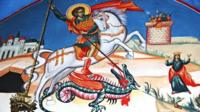 An image of St George