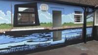 New mural at Phoenix Centre in Norwich