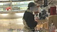 Shoplifting CCTV