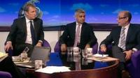 Nigel Evans, Sadiq Khan and Nick Robinson