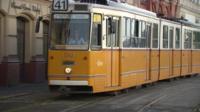 Hungarian tram