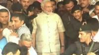 Prime Minister-elect, Narendra Modi,