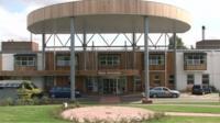 Hinchingbrooke Hospital main entrance