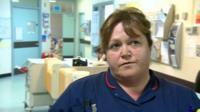 Nurse at Princess of Wales Hospital, Bridgend