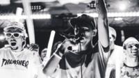 Rapper Mic Jordan