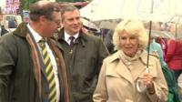 The Duchess of Cornwall at the Royal Bath & West Show