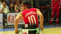 Afghanistan's national wheelchair basketball team