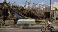 Aftermath of Typhoon Haiyan on 13 November 2013 in Tacloban