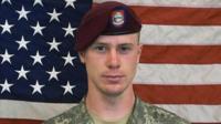 US soldier Sergeant Bowe Bergdahl
