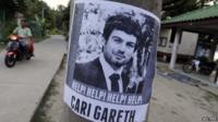 Gareth Huntley missing poster
