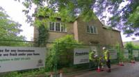 David Cameron's Oxfordshire home