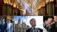 Service at Bayeux cathedral