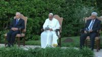 Peace prayers at the Vatican
