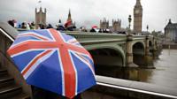 Rainy weather in London
