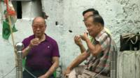 Chinese men in Calcutta