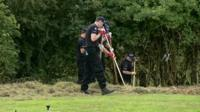 Police search for clues after Colchester murder