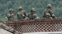 South Korean army search for soldier who shot comrades