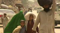 People flee in their homes in North Waziristan