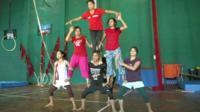 Circus troupe
