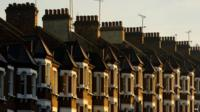 A row of terraced houses