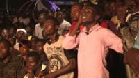 Ghana football fans