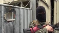 Pro-Russia fighter