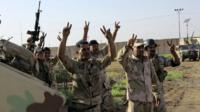 Members of Iraqi security forces