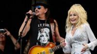 Dolly Parton with Richie Sambora