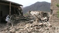Aftermath of Pakistan military strike in North Waziristan
