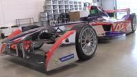 Virgin Racing Formula E car