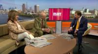 Baroness Helena Kennedy, Lord Tebbit and Andrew Marr