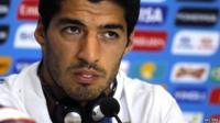 Luis Suarez - file photo, 23 June 2014