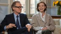 Bill Nighy and Carey Mulligan