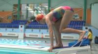 Teen swims at Games 24 years after mum