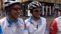 Swaziland cyclists