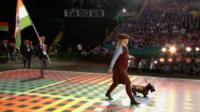 Opening ceremony of the Commonwealth Games