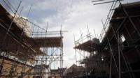 Housing construction site