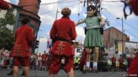 Puppet in Liverpool