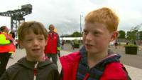 Young fans react to Usain Bolt's reported criticism of Glasgow and Commonwealth Games