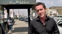 Mark Lowen in Cairo