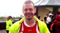 Cancer patients marathon challenge