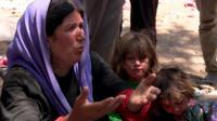A Yazidi woman explains her family's suffering