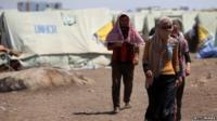 Iraqi Yazidi refugees