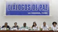 Representatives of Colombian victims of armed conflict