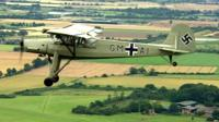 A 1942 Fieseler Storch, a German aircraft used in World War Two
