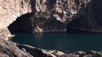 Eshaness cave