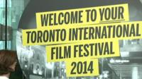 Toronto International Film Festival welcome sign