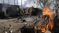 Shelling in Donetsk, 7 Sept
